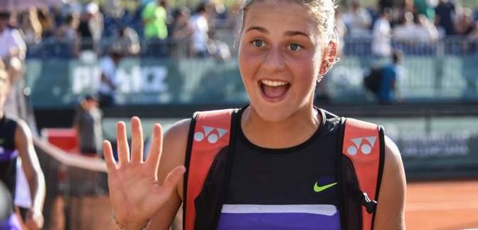 18-летняя украинка впервые в карьере попала в основную сетку US Open