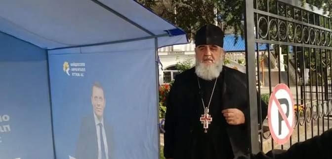 На Закарпатті священник-сепаратист агітував за ОПЗЖ перед храмом: відео