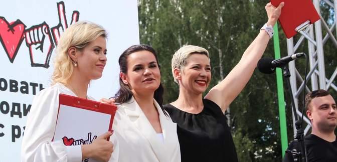 Тихановську, Колесникову та Цепкало висунули на Нобелівську премію миру