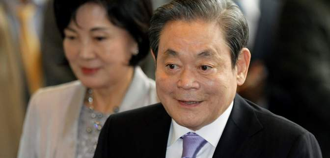 Помер голова концерну Samsung Лі Гонхі
