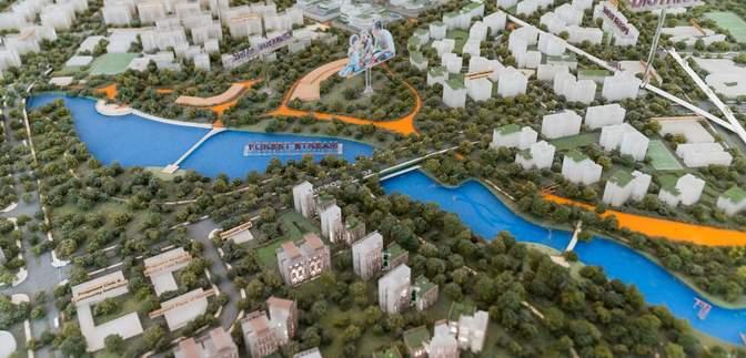 """В Сингапуре появится экологический """"город будущего"""": фото масштабного проекта"""
