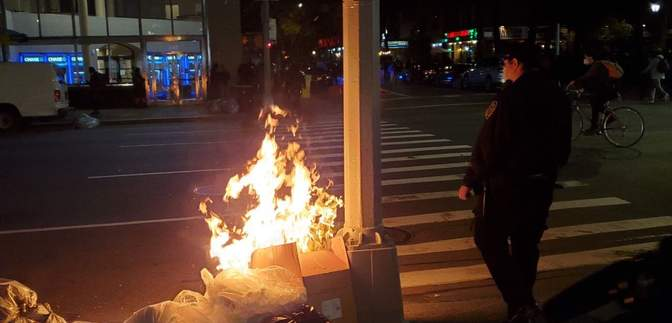 Нацгвардия и разбитые витрины: протесты в США переросли в столкновения с полицией