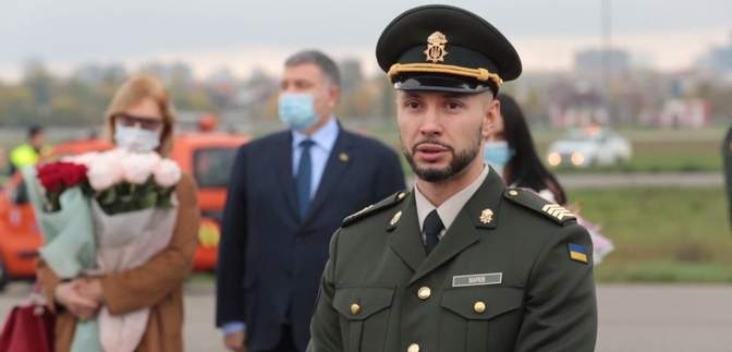 Виталий Маркив возобновил службу в батальоне имени Кульчицкого