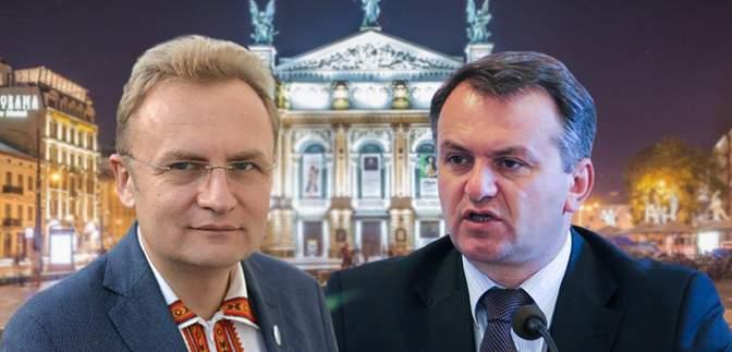 Визнав поразку: Синютка привітав Садового з перемогою на місцевих виборах