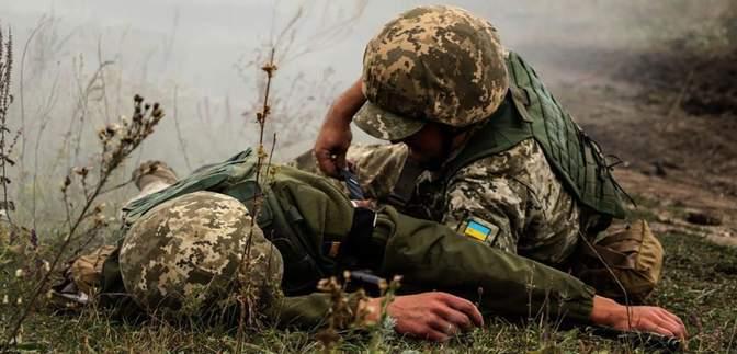 Сколько украинских военных погибли и получили ранения за время перемирия
