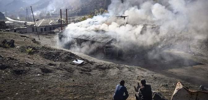 Армяне сожгли свое село, а потом узнали, что его не нужно возвращать Азербайджану