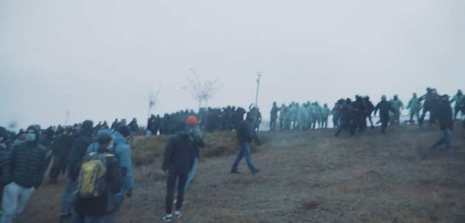На Меморіалі жертвам Голодомору в Харкові сталися сутички: фото, відео
