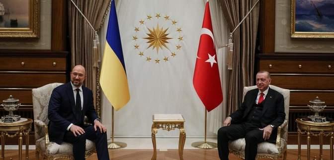 Шмигаль зустрівся з Ердоганом: про що говорили політики – відео