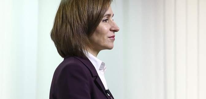 Санду хоче мирно врегулювати ситуацію у Придністров'ї