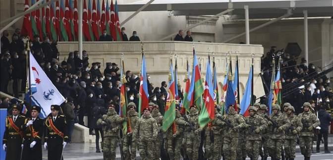 В Баку провели парад победы: кто приехал отмечать триумф в Карабахе – видео