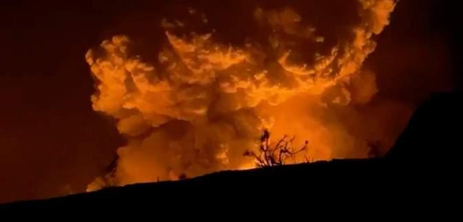 """На Гаваях пройшов землетрус, який """"розбудив"""" вулкан Кілауеа: шокуючі кадри"""