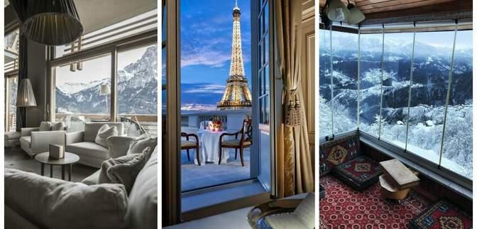 15 гостиничных номеров с лучшими в мире видами из окна: атмосферные фото