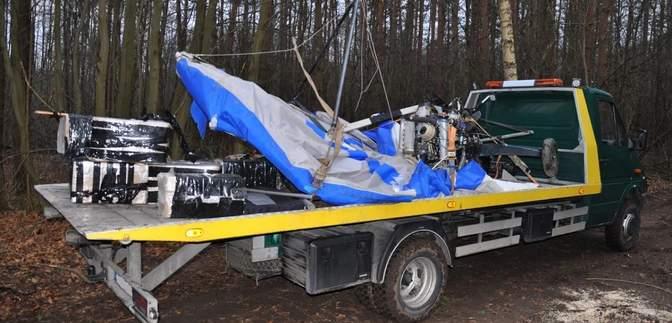 В Польше обнаружили разбитый дельтаплан украинца-контрабандиста: детали инцидента