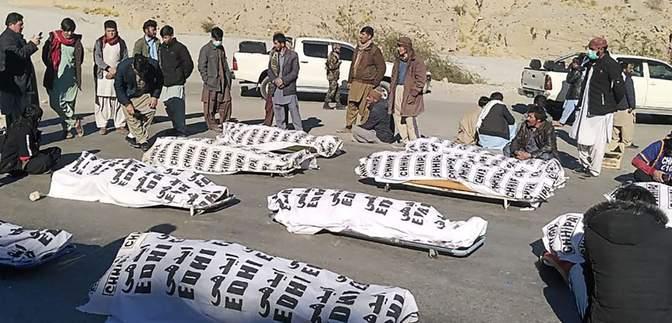 Собрали в горах и расстреляли: 11 шахтеров-хазаров погибли из-за нападения в Пакистане