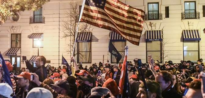 В Вашингтоне планируют масштабные протесты: посольство Украины просит не принимать в них участие