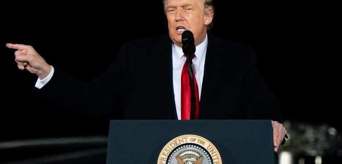 Трамп пообещал адскую борьбу в день объявления результатов выборов: видео
