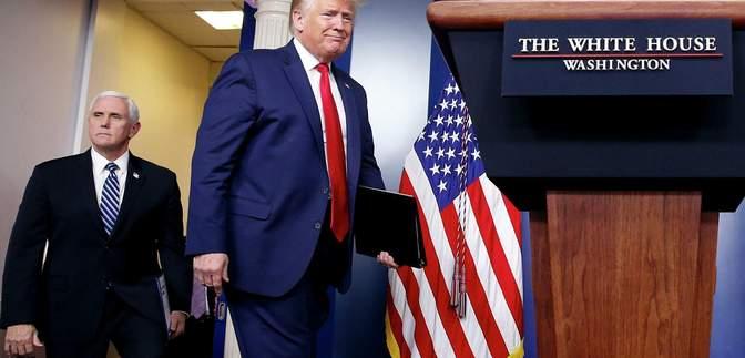 Пенс заявил, что не может отменить результаты выборов в США: Трамп это гневно отрицает