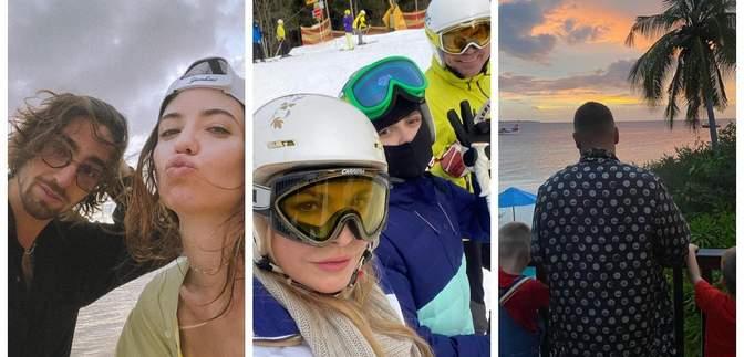 Які курорти для зимового відпочинку обрали українські селебріті: фото