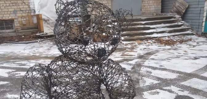 Создал работы в подвале: скульптуры харьковского художника покажут в известной галерее Нью-Йорка