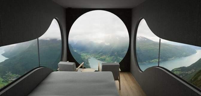 """В Норвегии туристам предлагают пожить в """"скворечниках"""" с роскошным видом на фьорды: цена"""