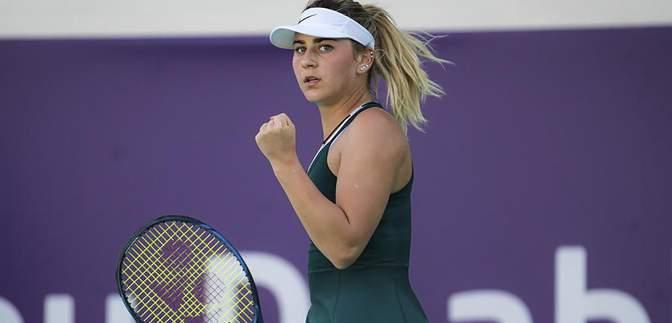 Марта Костюк встановить особистий рекорд у рейтингу WTA після вдалого виступу в Абу-Дабі
