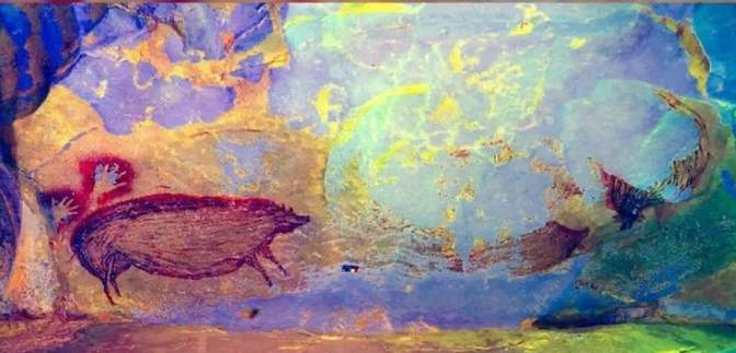 Вчені знайшли найдавніший малюнок тварини: зображенню свині понад 45 тисяч років – фото