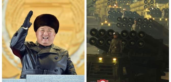 "Ким Чен Ын поиграл мышцами: на параде в КНДР показали ""самое мощное оружие мира"" – фото"