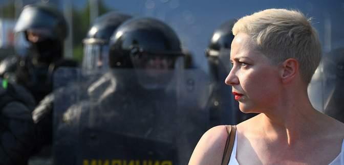 Суд в Беларуси оставил оппозиционерку Колесникову под арестом еще на 1,5 месяца