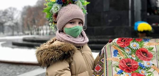 День соборности Украины: как отмечали разные области во время локдауна – фото, видео