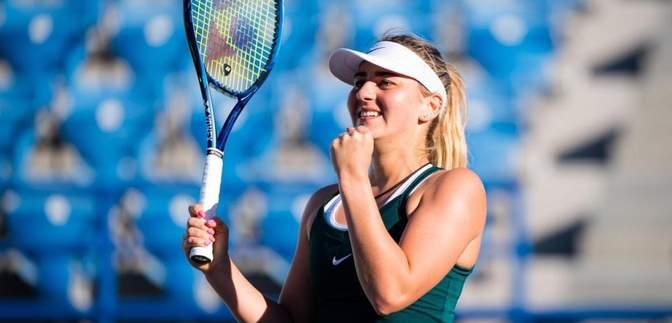 Битва з Андреєску та Бенчіч: Костюк візьме участь на турнірі перед Australian Open