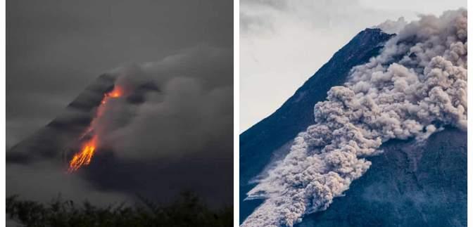 Гора вогню: в Індонезії прокинувся найактивніший вулкан країни – фото й відео