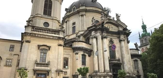 Во Львове завершили реставрацию Доминиканского собора за более чем 15 миллионов гривен