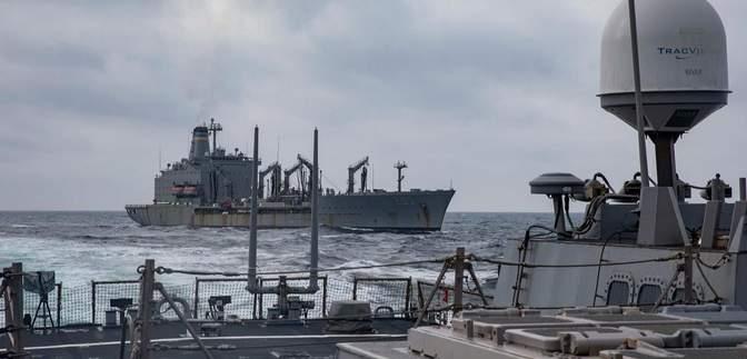 Украинские и американские военные провели совместные учения в Черном море: захватывающие фото
