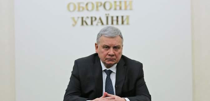 Министр обороны Таран на заседании СНБО не был, однако санкции против Козака поддерживает