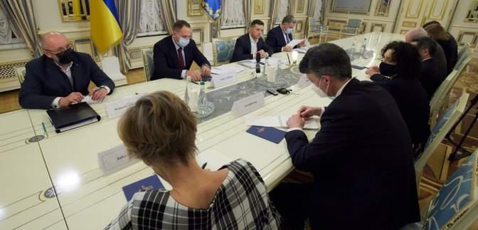 Встреча с Зеленским: Послы G7 согласны с необходимостью бороться с дезинформацией в Украине