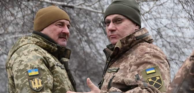 Хомчак відвідав передову українських воїнів на Донбасі: деталі поїздки – фото