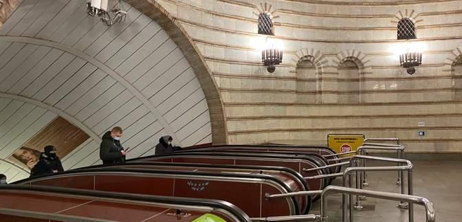 """За 43 мільйони: на станції """"Золоті ворота"""" відремонтували всі ескалатори"""