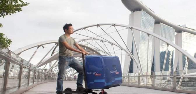 У Сінгапурі представили унікальний електросамокат Mimo C1: чим особливий, фото