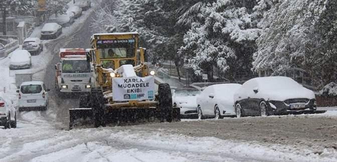 Негода в Туреччині: мегаполіс Стамбул засипало снігом – вражаючі фото, відео