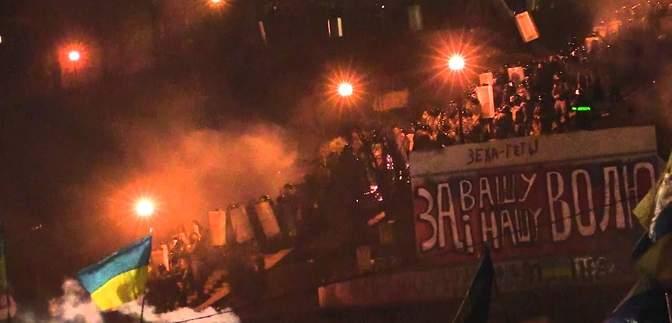 18 февраля – первый самый страшный день Майдана