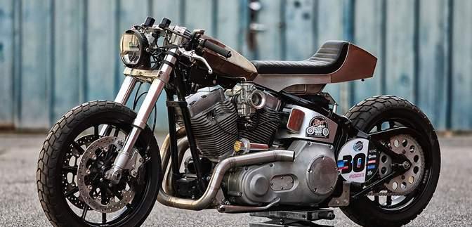 Бельгійці зробили потужний Harley-Davidson Softail для дрег-гонок: круті фото