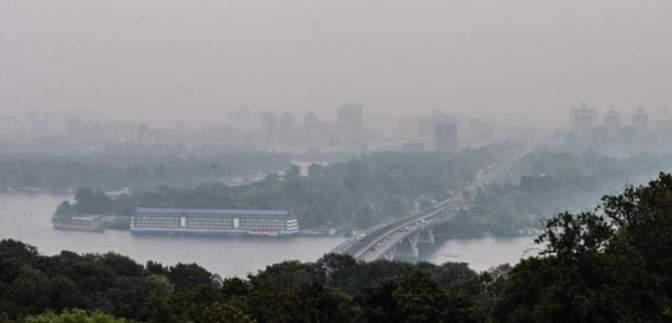 Киев снова попал к городам с самым загрязненным воздухом в мире