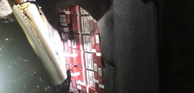Перевозил 1,7 тысячи пачек сигарет в обшивке автомобиля: таможенники задержали контрабандиста