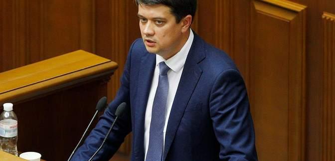 """Разумков не верит, что законопроект об """"уничтожении НАБУ"""" легко пройдет Верховную Раду"""