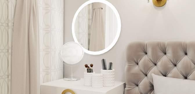Туалетный столик в спальне: полезные лайфхаки, как все сделать красиво