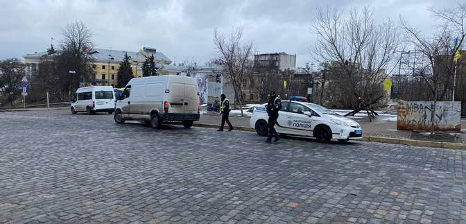 Готовятся к протестам в поддержку Стерненко: центр Киева заполонила полиция