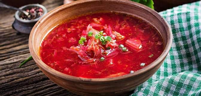 Борщ попал в рейтинг лучших супов мира по версии CNN