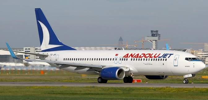 Бюджетний підрозділ Turkish Airlines – AnadoluJet – вперше відкриє рейси в Україну
