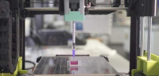 Ученые будут печатать кости прямо в теле пациента: как это работает – видео