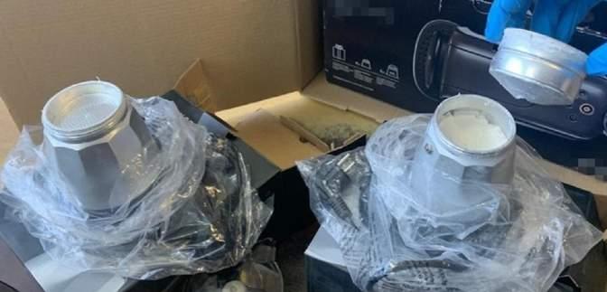 Пів кілограма кокаїну в кавоварці: СБУ завадила контрабанді наркотиків з Іспанії